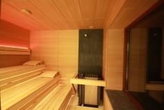 Poilsio erdvė. Sauna.