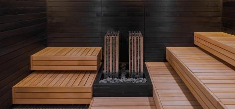 Vilnius Grand resort. Sauna