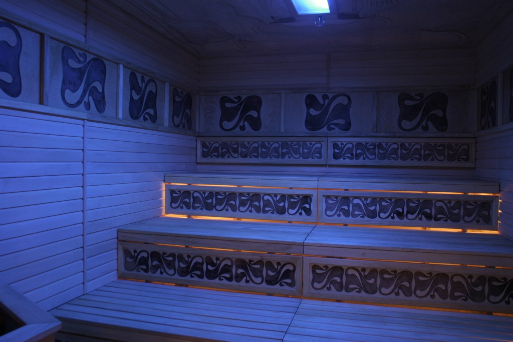Light/ chromo therapy sauna