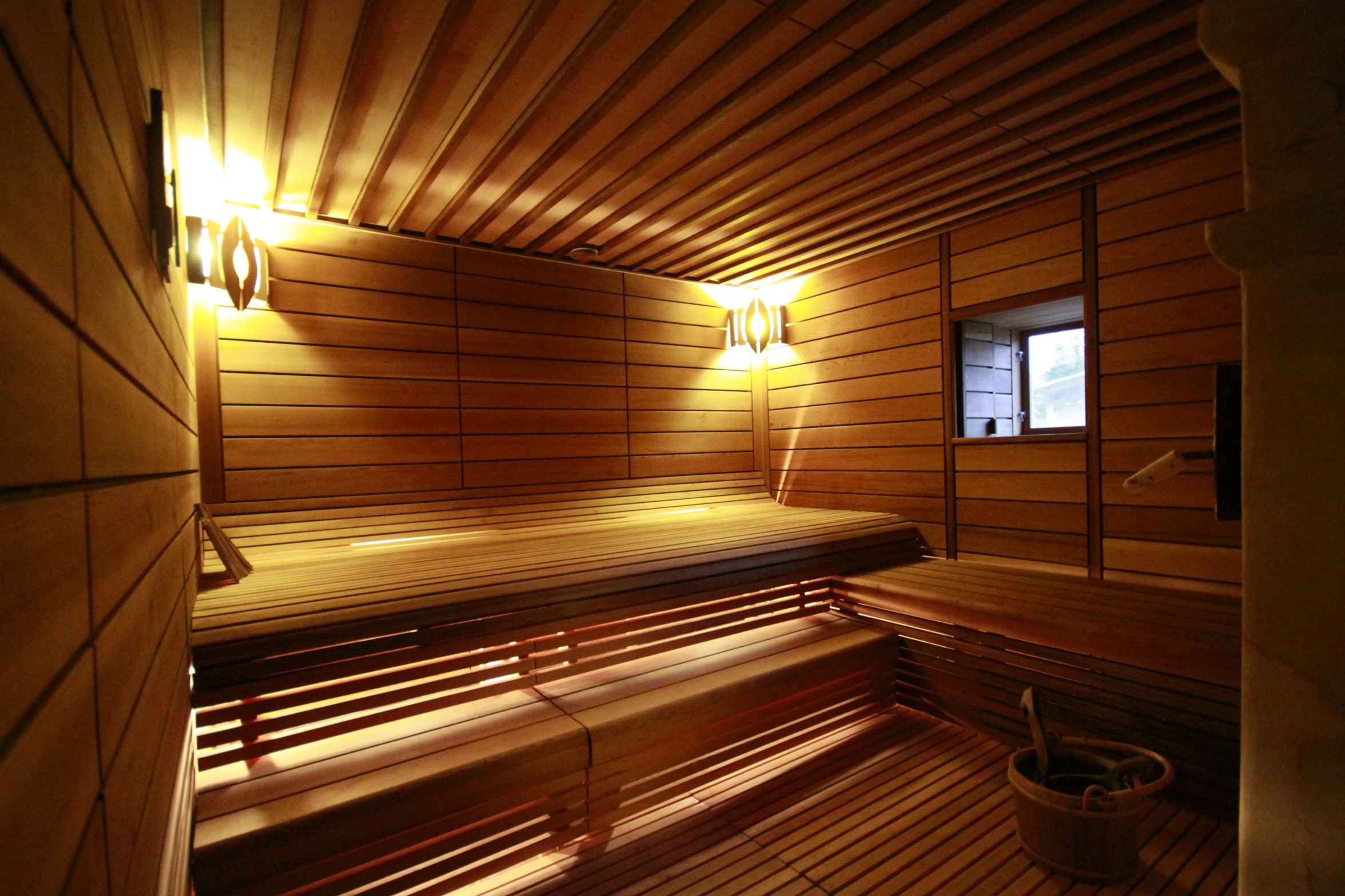 sauna with steam mato sauna. Black Bedroom Furniture Sets. Home Design Ideas