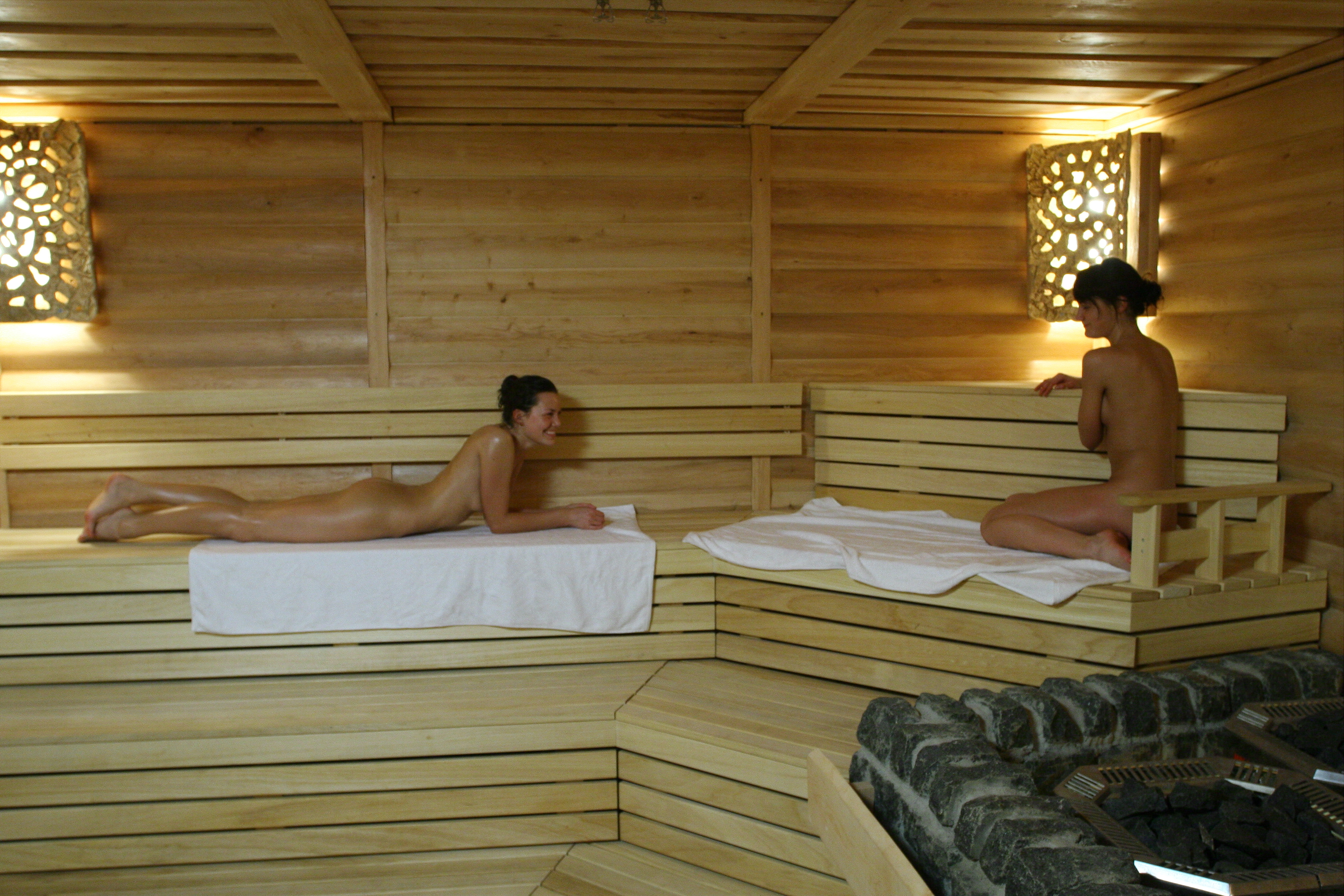 Russian Bath Bathhouse With Steam 92